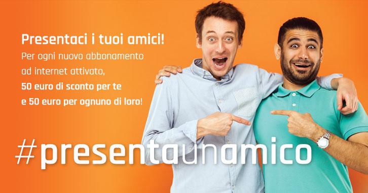#presentaunamico promozione